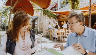 Divorcing couple wondering how they'll ever co-parent.