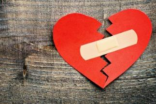 Broken hearts can heal if you know how to get over a divorce.
