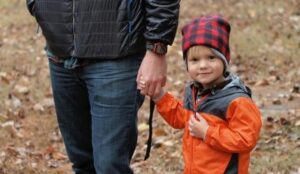 This father learned how to discuss co-parenting issues without losing his cool for his son's sake.