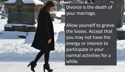 Divorce is the death of a marriage.