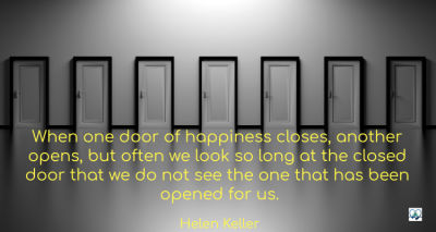 7 doors closed to happiness.